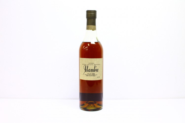 NIKKA PURE GRAPE BRANDY Alambic アランビック